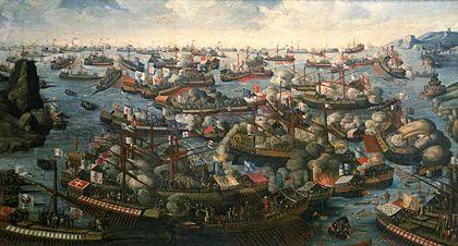 Battaglia di Lepanto - link alla pagina su wikipedia